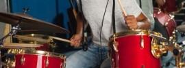 Playing drums will take away stress