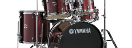 Yamaha Gigmaker 5-Piece Standard Shell Pack with 22 Bass Drum Burgundy Glitter