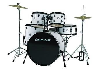 ludwig accent drive drum set review barking drum. Black Bedroom Furniture Sets. Home Design Ideas