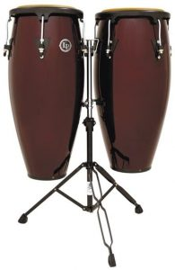 Latin Percussion LP646NY-DW 10-Inch and 11-Inch City Series Conga Set